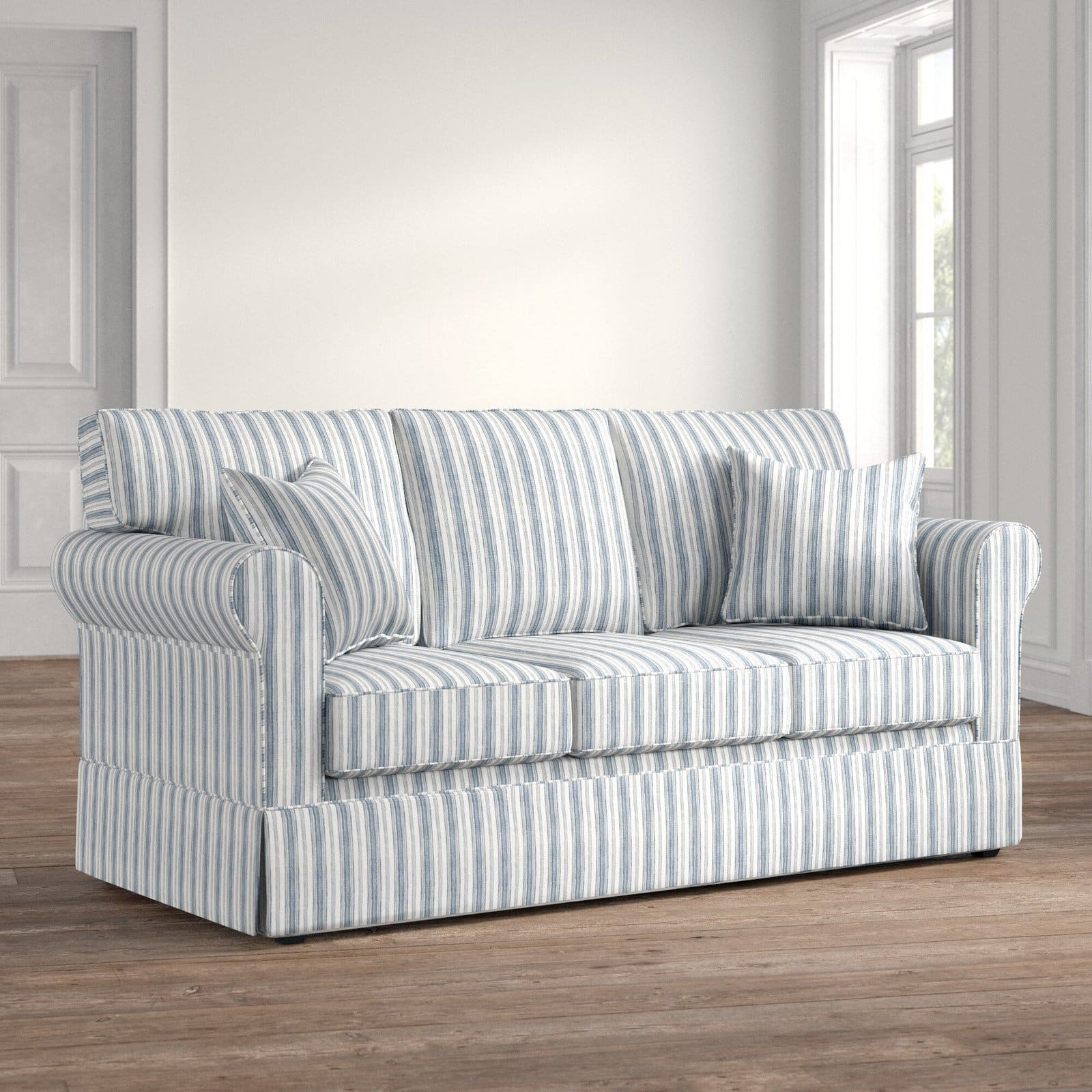 Cottage Pinstripe Couch