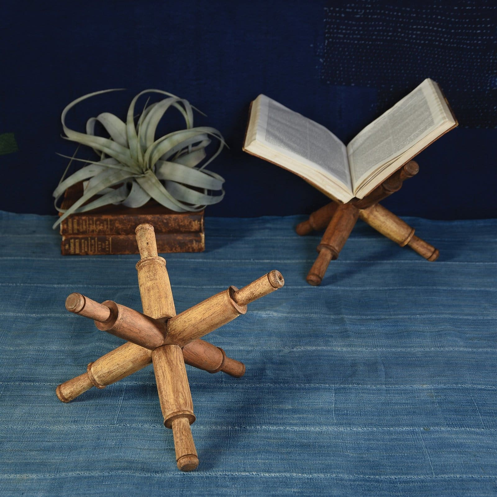 Give your Favourite Book a Home with this Wooden Stand