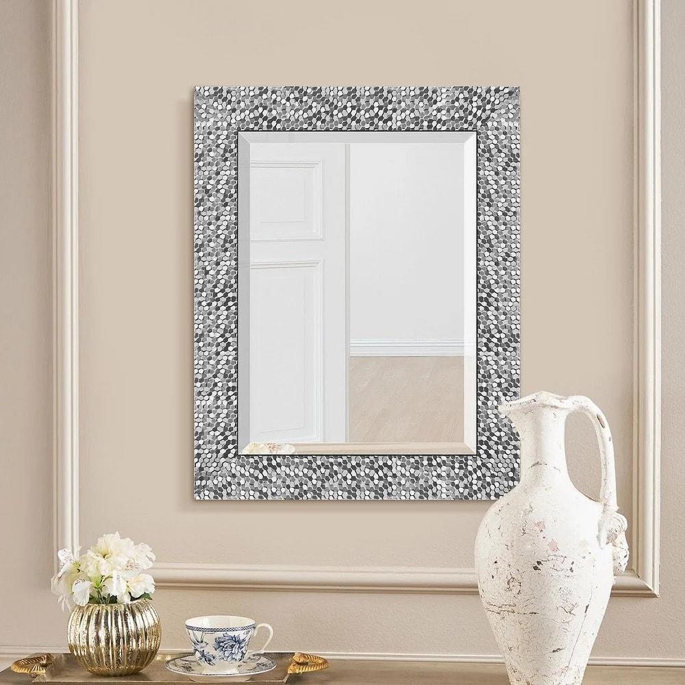 Add an Artsy Flair With a Mosaic Mirror