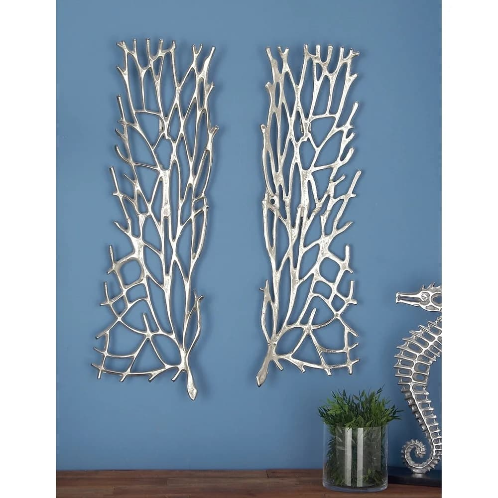Bring the Beach to You With Metal Coral Art