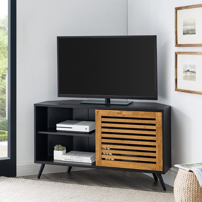 Tv Stand for Narrow Corners