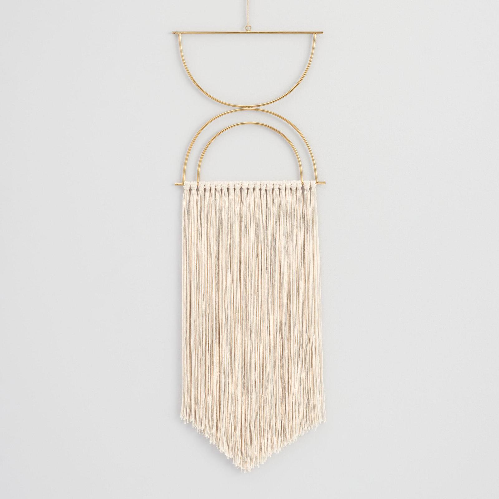 Get Fringy with Your Wall