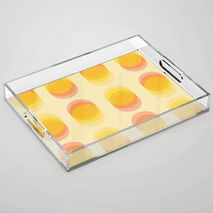Use Trays to Organise Things away from Curious Hands
