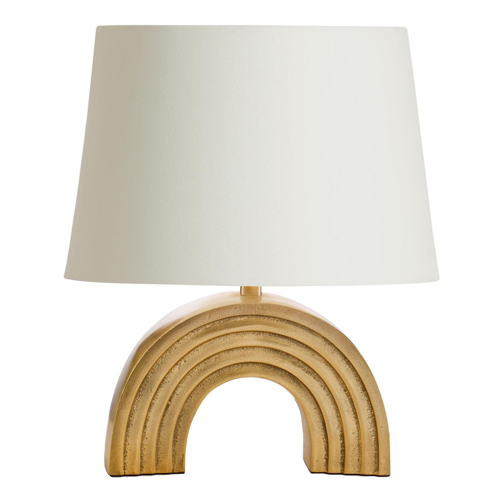 Stylish Gold Rainbow Lamp