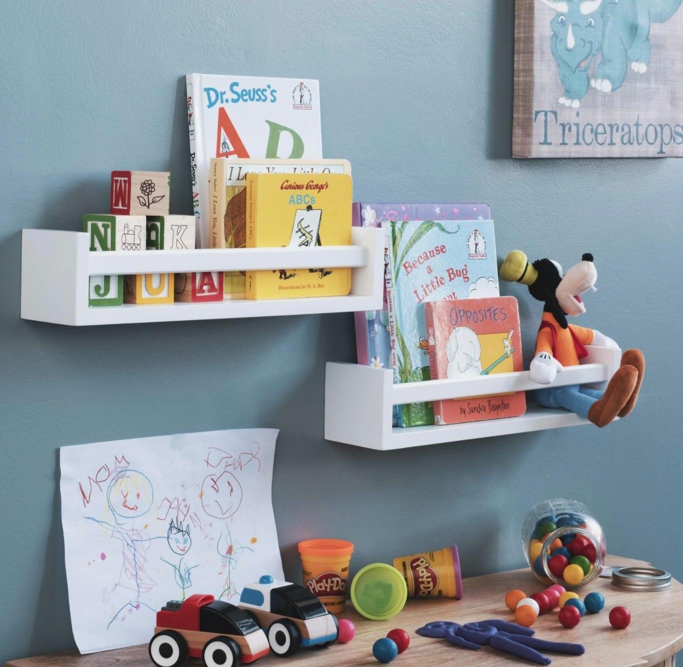 Use Wall Mounted Book Storage