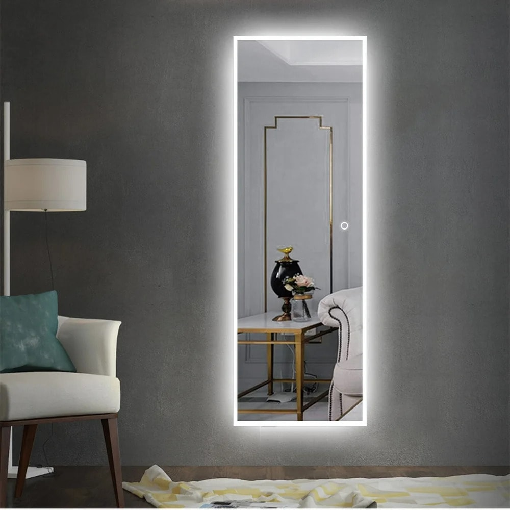 Make Your Room Brighter With an LED Mirror