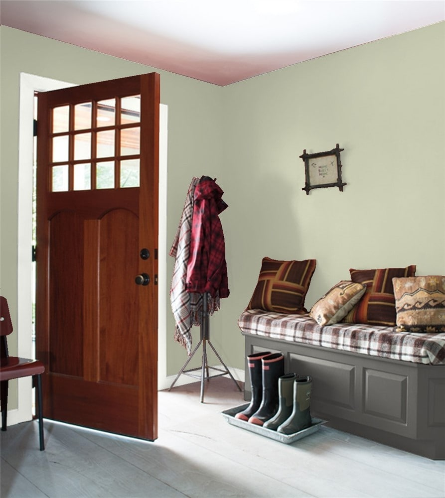 2 Entryway in Soft Fern by Benjamin Moore