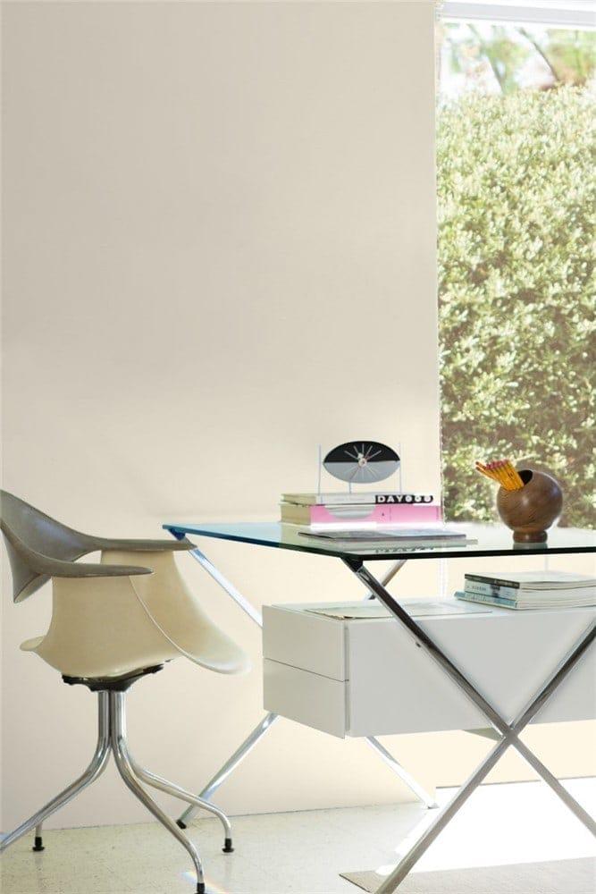 2 Office LRV Edgecomb Gray by Benjamin Moore