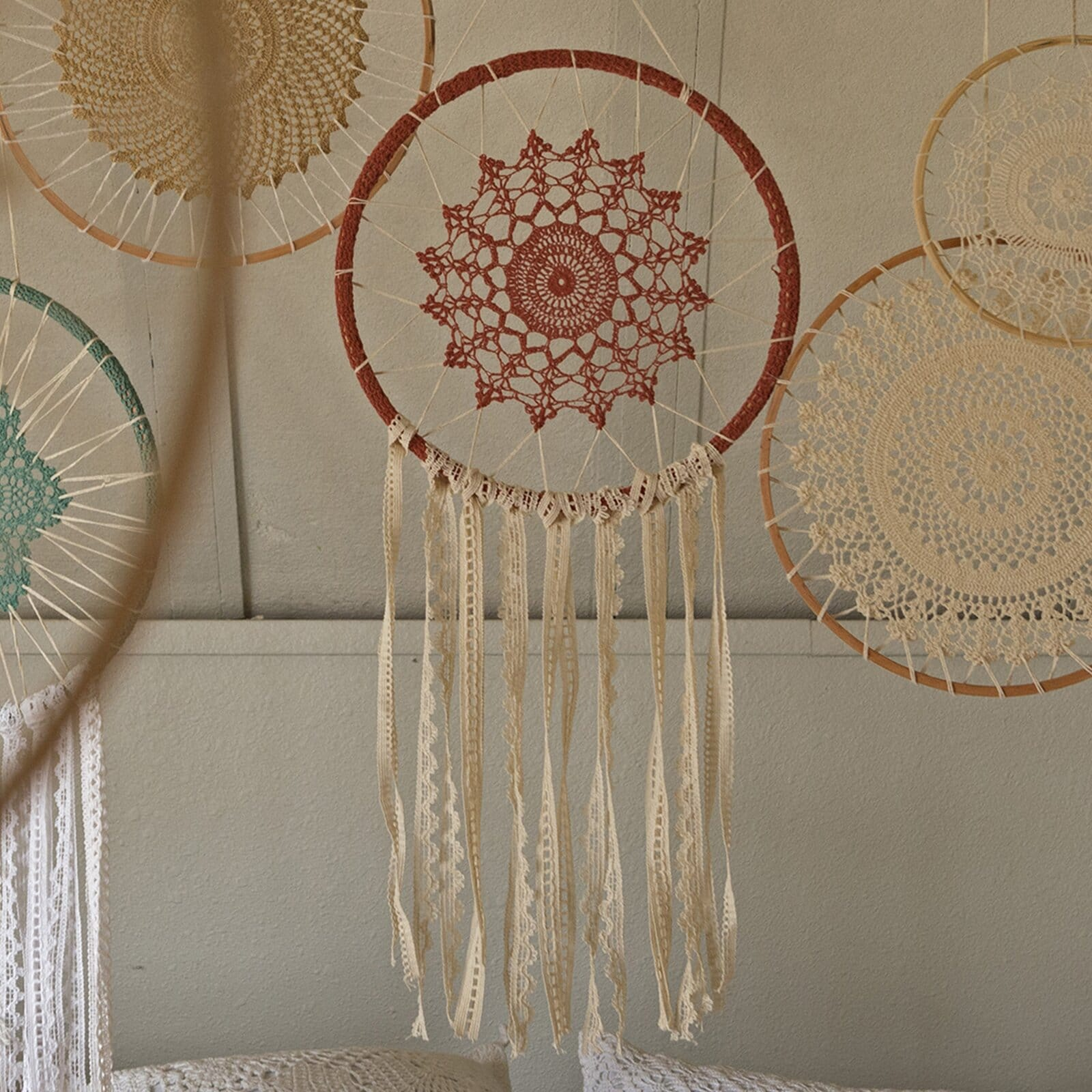 Bring In a Dreamcatcher for Boho Authenticity