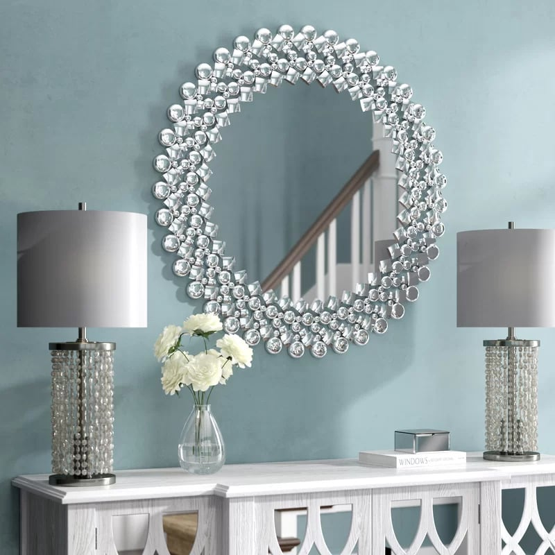 Choose a Crystal Mirror for a Luxurious Look