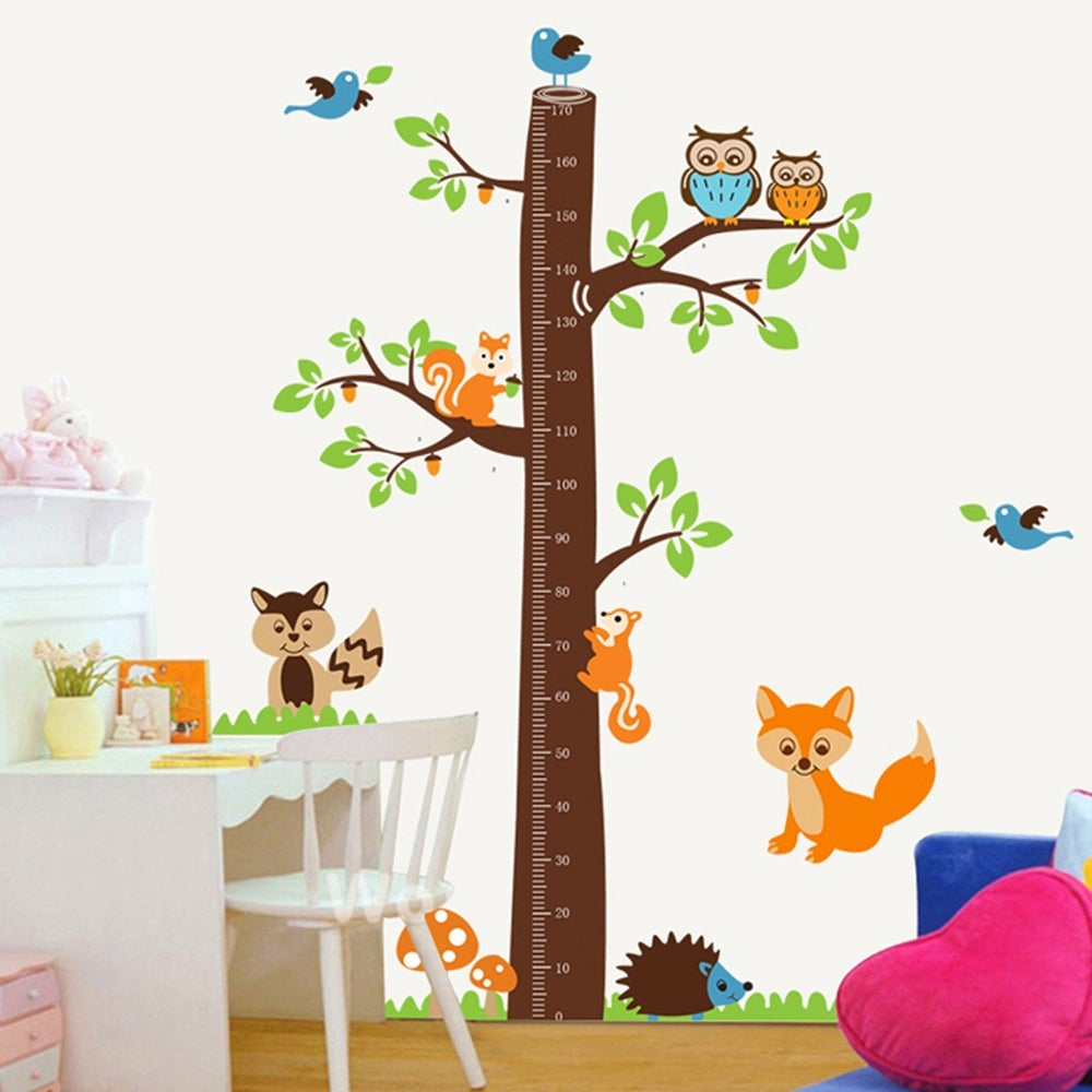 Track Progress With a Tree Height Chart Decal