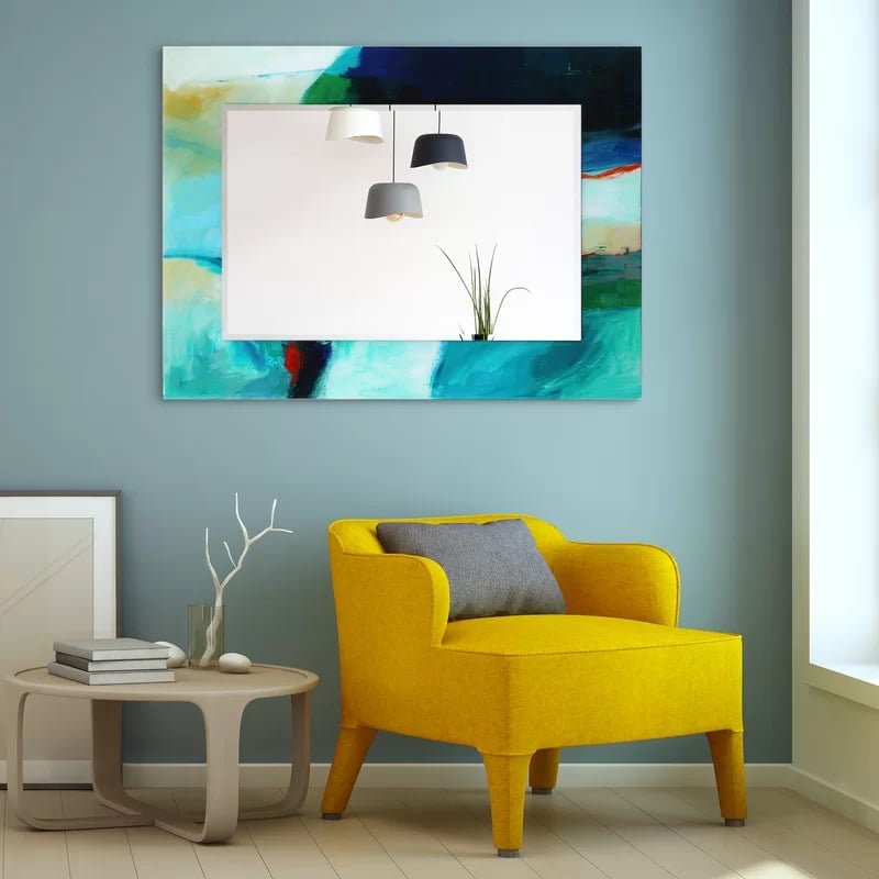 Have Your Mirror Double as Art With a Painted Frame