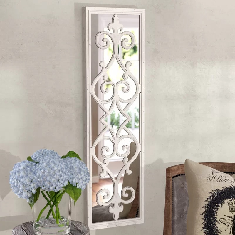 Go For a Traditional Look With a Decorative Scroll Mirror