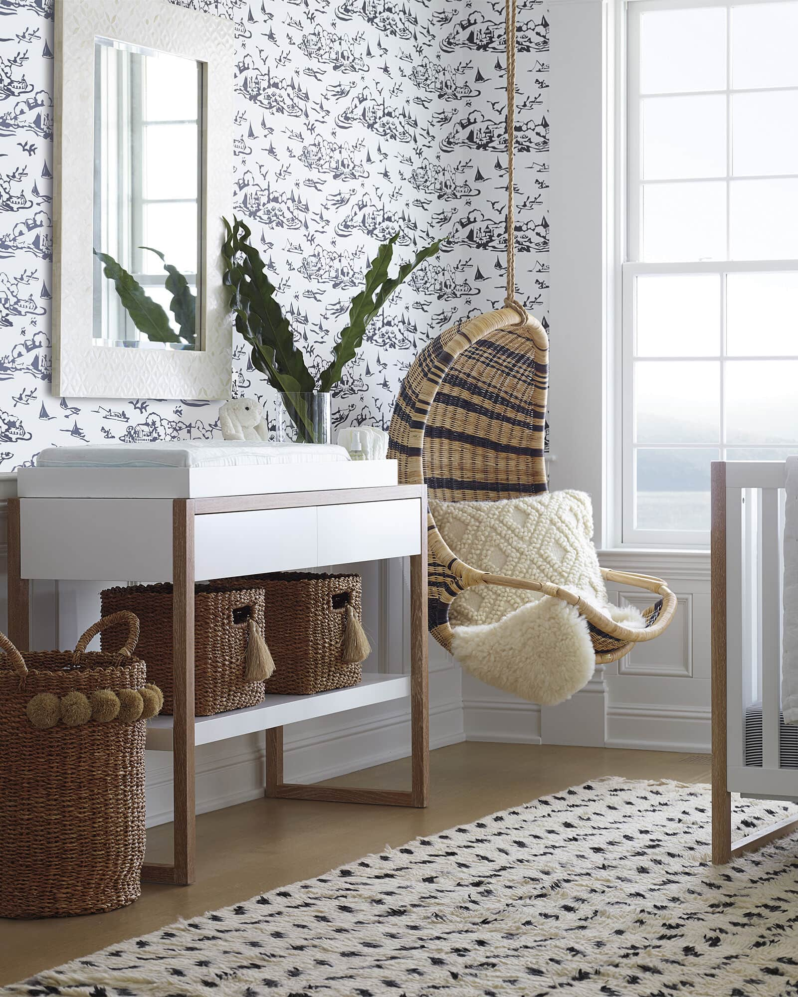 Use this Changing Table to Create an Earthy Toned Nursery