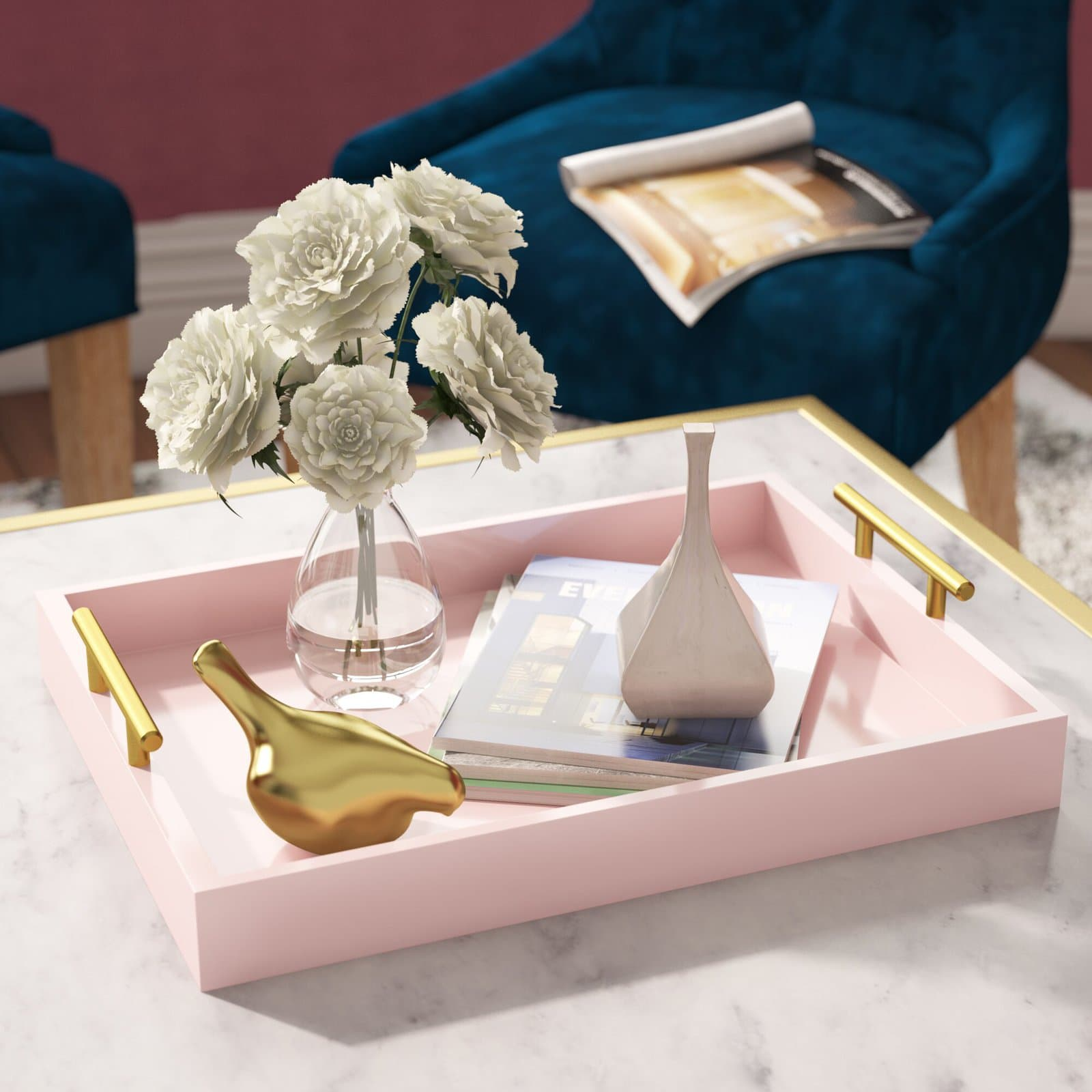 Organize your Clutter with this Stunning Decorative Tray