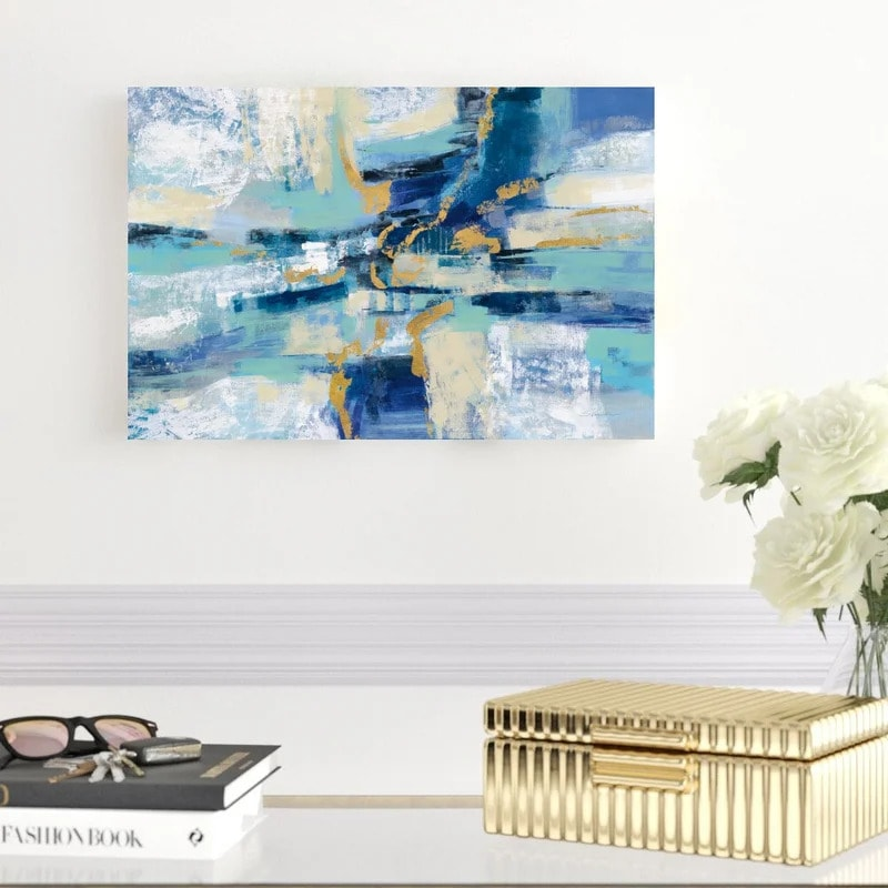 Show Off Your Artistic Side With an Abstract Painting