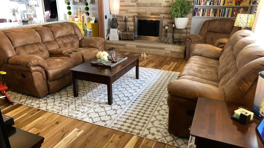Try Grey Walls With Dark Brown Furniture