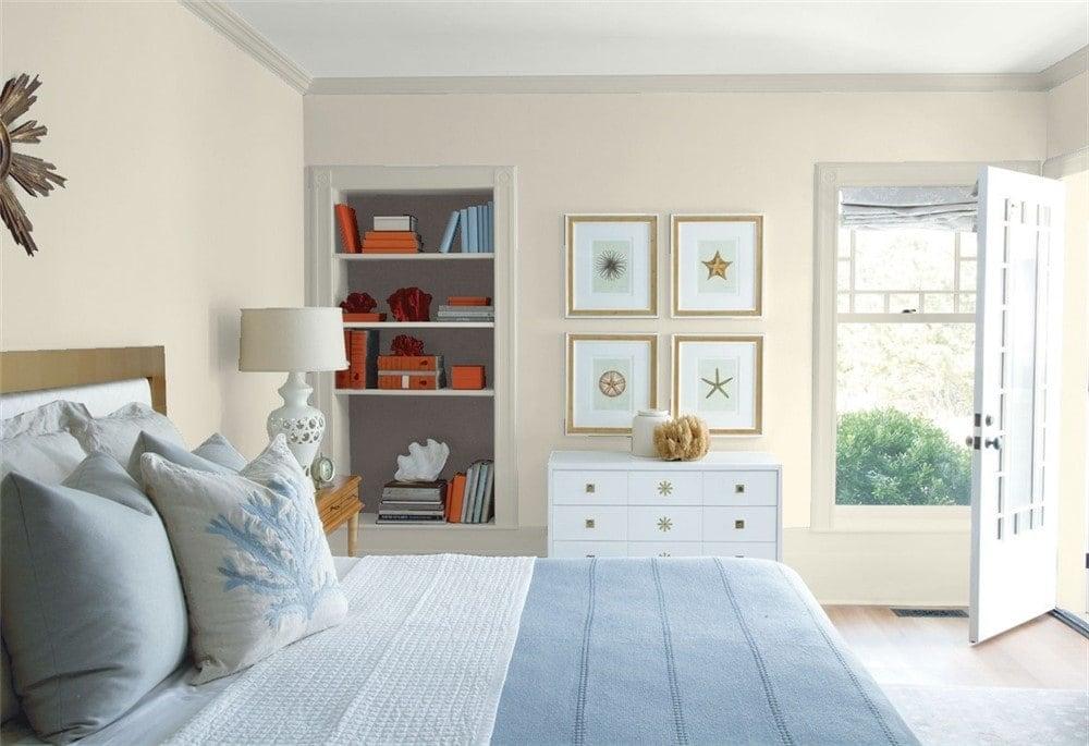 4 Bedroom Edgecomb Gray by Benjamin Moore