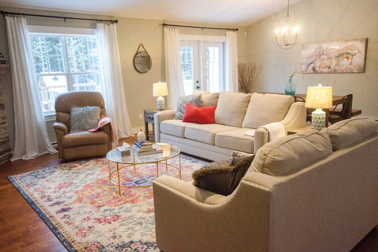 Choose Light-Brown Furniture and Cozy Lighting