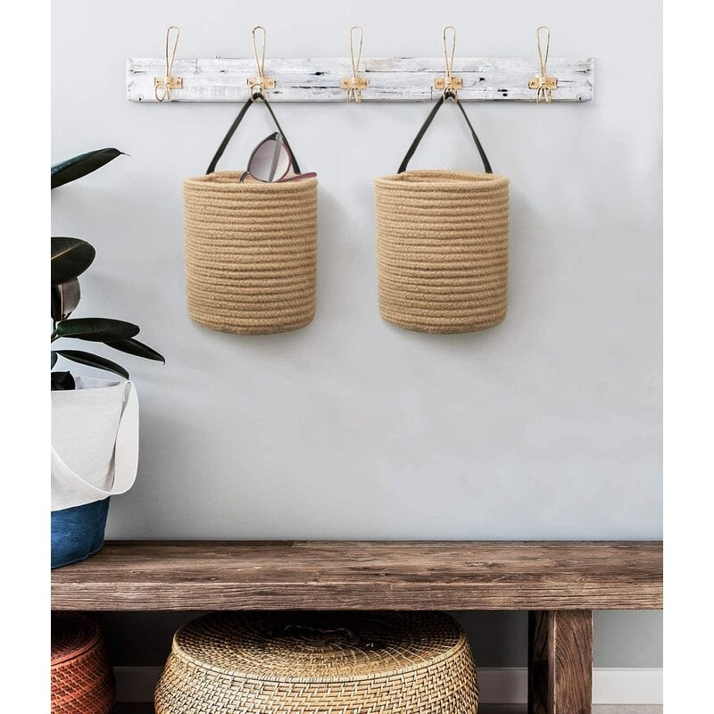 Go Green with Woven Baskets