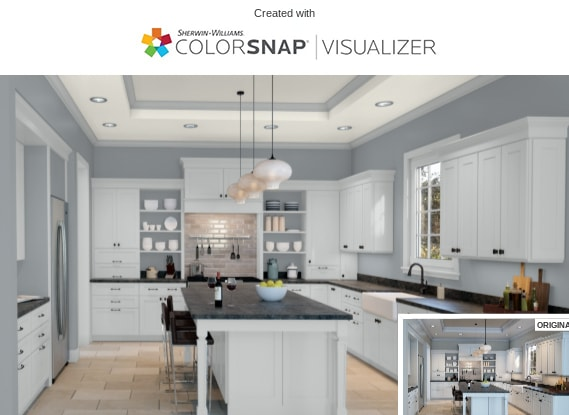 4 Kitchen in Morning Fog by Sherwin Williams 1
