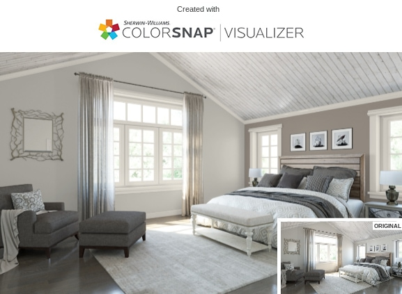 5 Bedroom in Repose Gray by Sherwin Williams