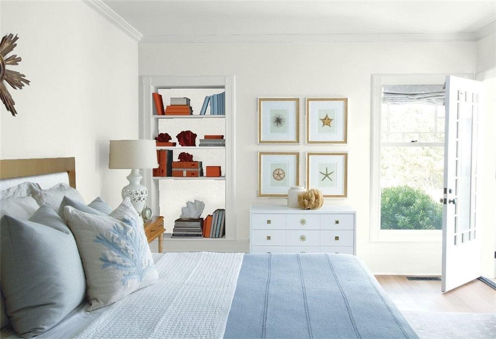 Benjamin Moore Silver Satin Paint Color Review