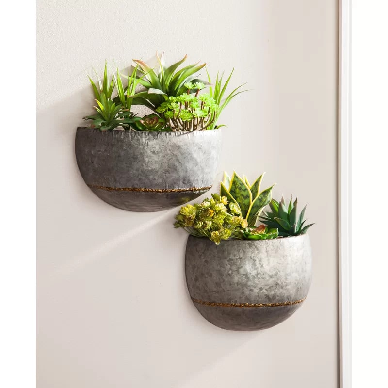 Start a Mini Garden With Wall-Hanging Planters