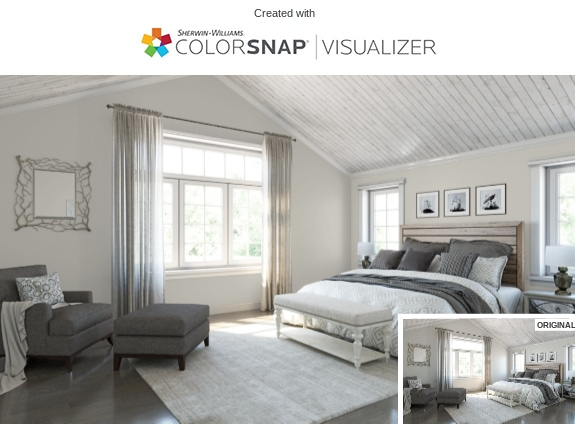 7 Bedroom in Repose Gray by Sherwin Williams
