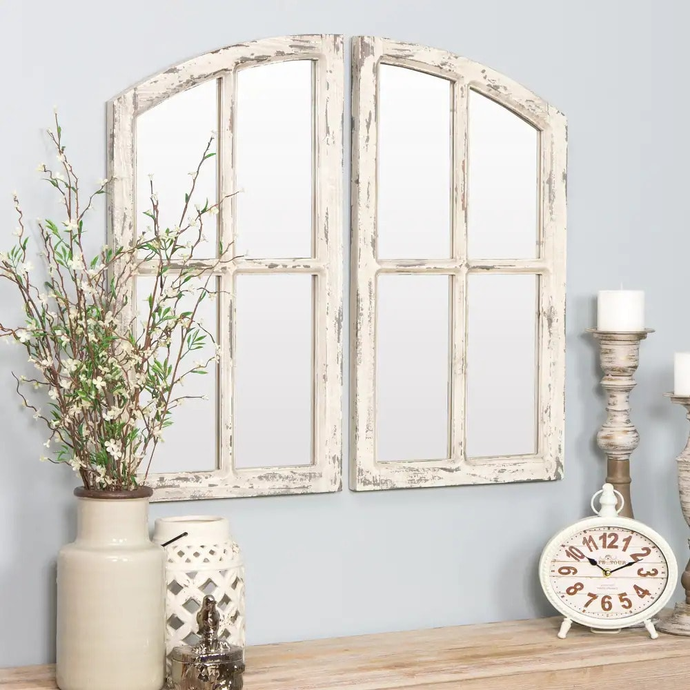 Make Your Living Room Feel More Open With a Window Mirror
