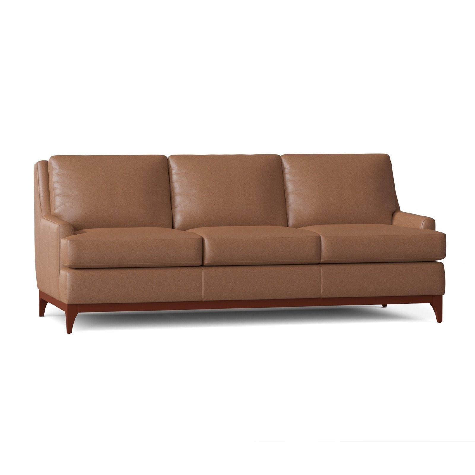 Plush Leather Sofa