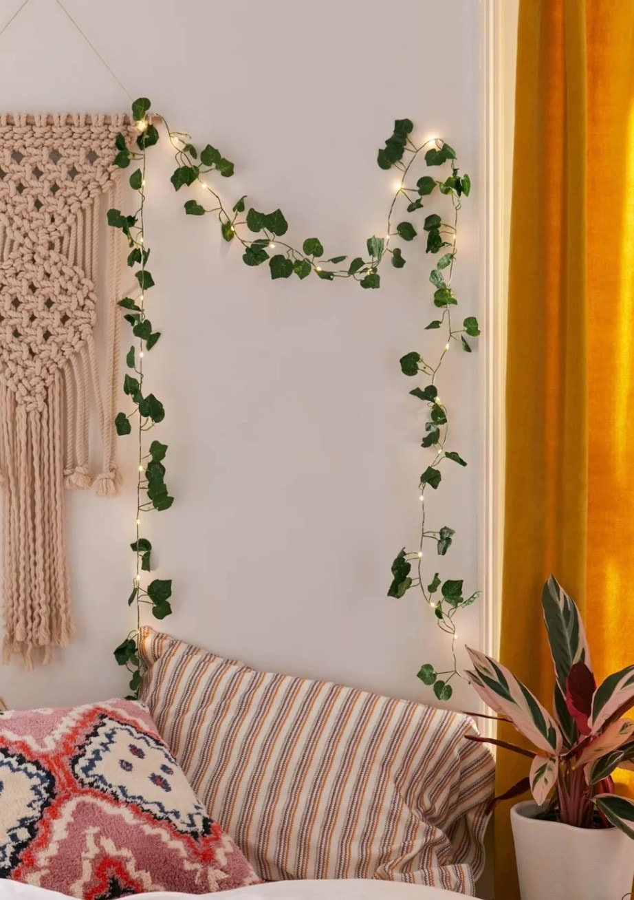 Add some Fairytale Magic with Ivy Vine String Lights