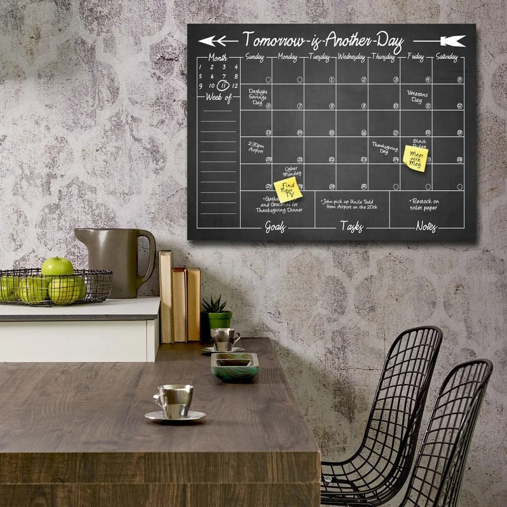 Keep Track of Your Busy Schedule With a Calendar Board