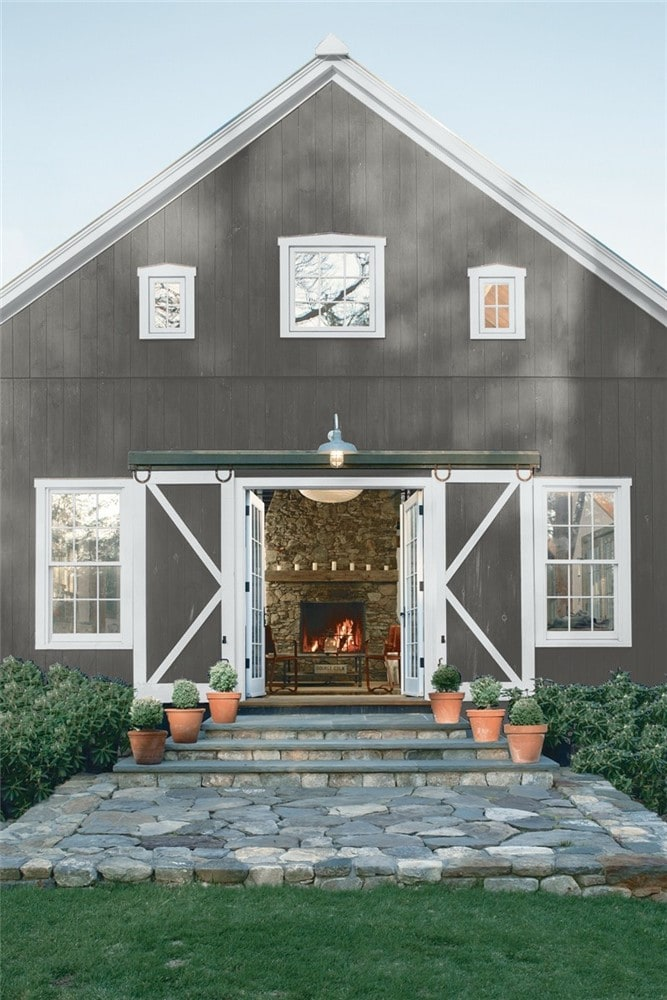 8 Kendall Charcoal Exterior by Benjamin Moore