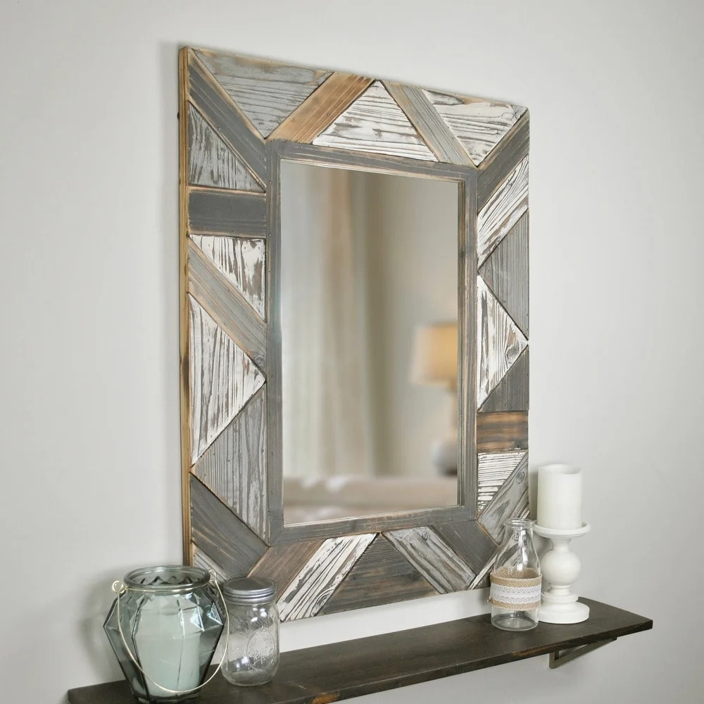 Choose a Wooden Mirror for a Rustic Look