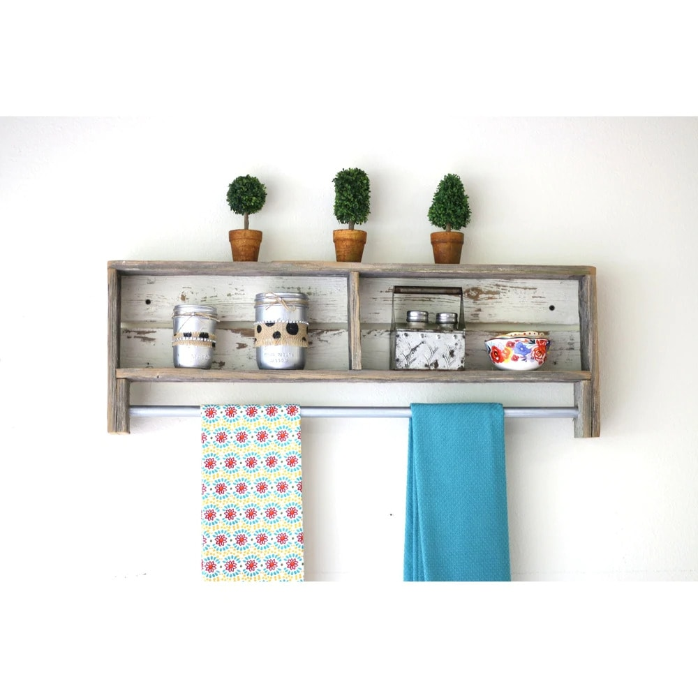 Keep Easy Cleaning Within Reach With a Towel Rack