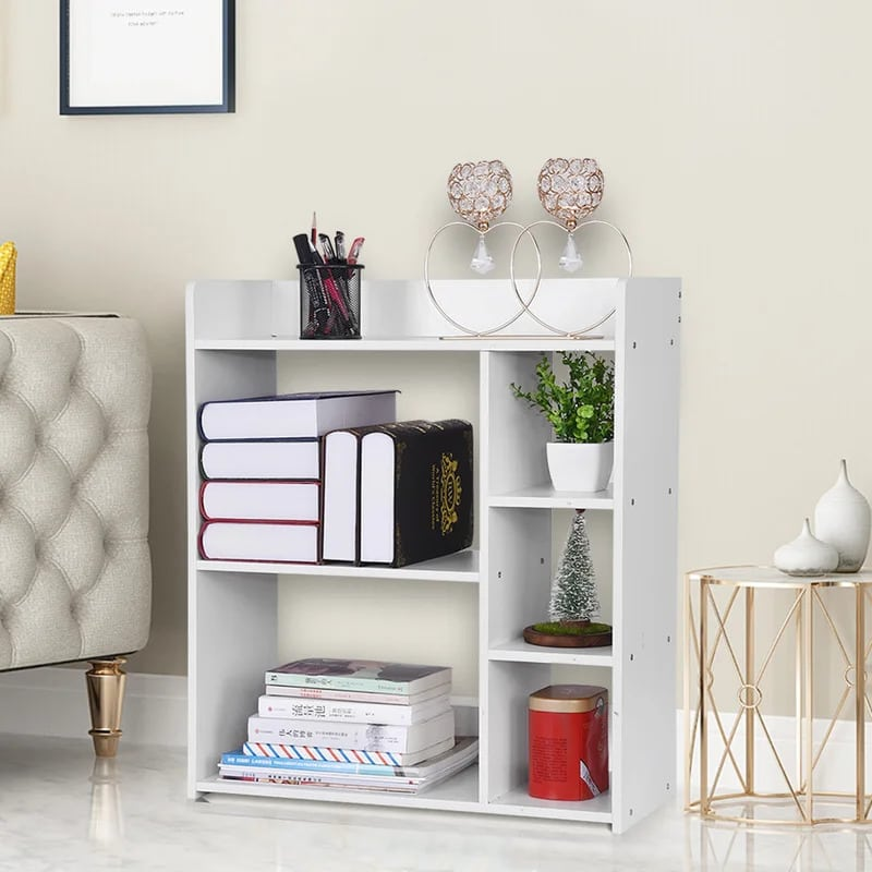 Let a Bookshelf Double as a Nightstand