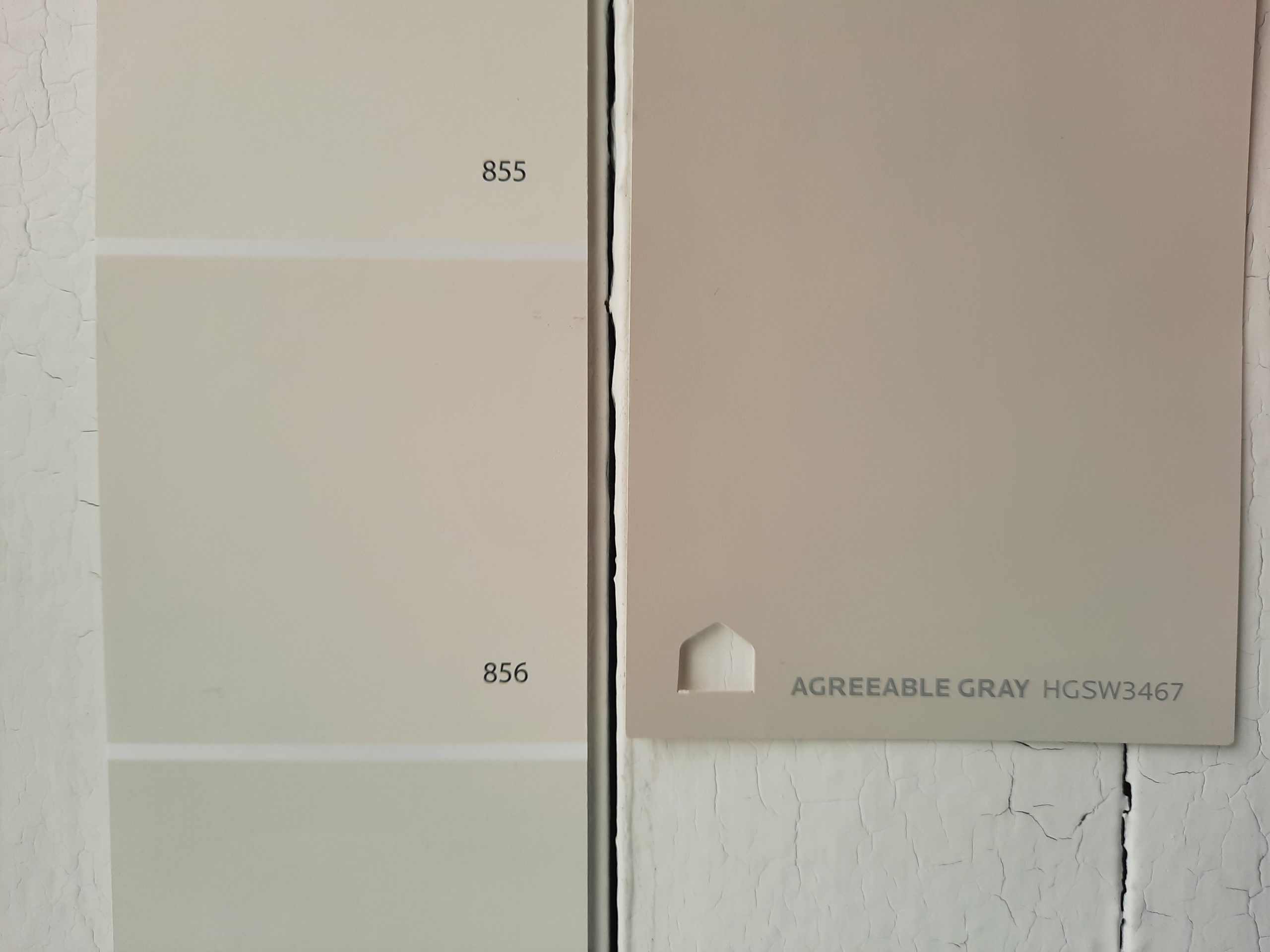 9 Silver Satin vs Agreeable Gray scaled