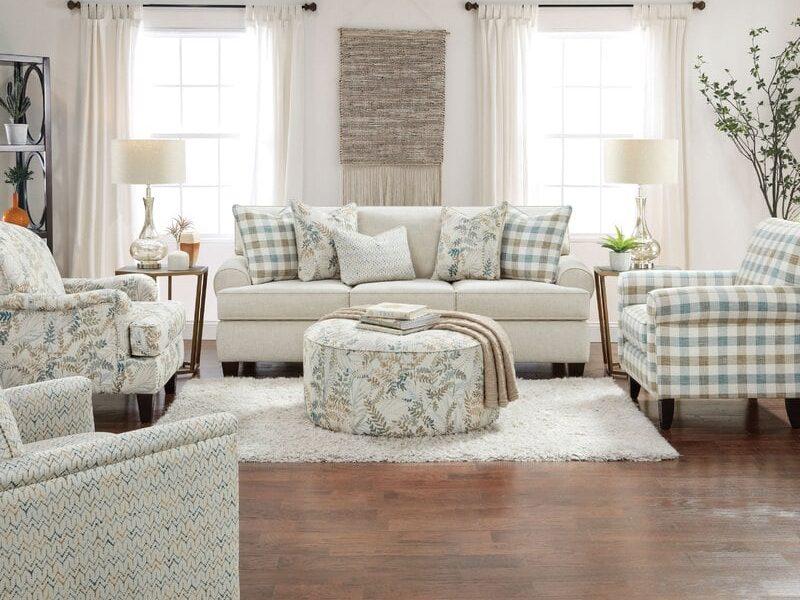 Ivory Cottage Sofa